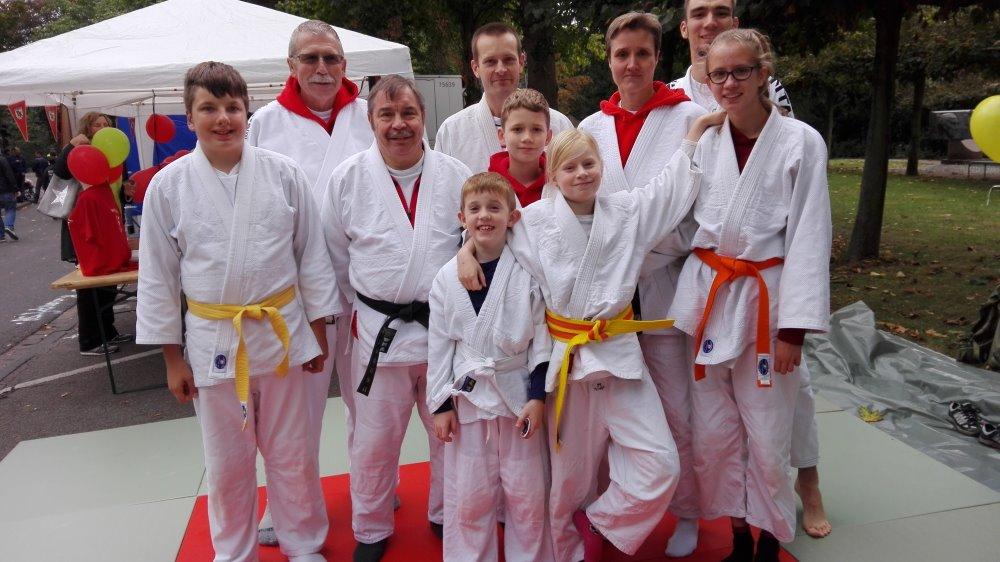 """Unsere Judoka beim """"City Herbst"""""""
