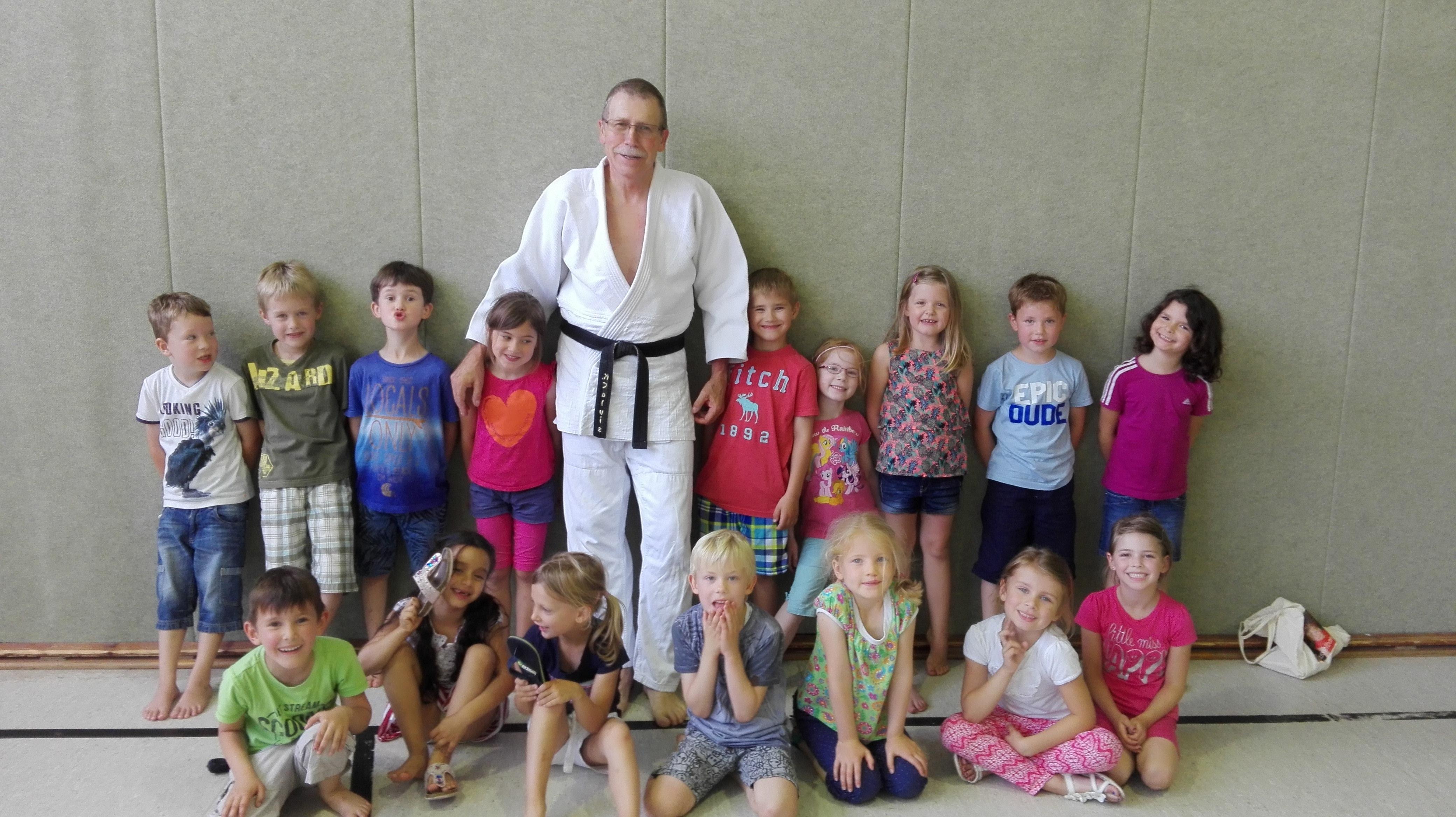 Judo mit dem Kindergarten